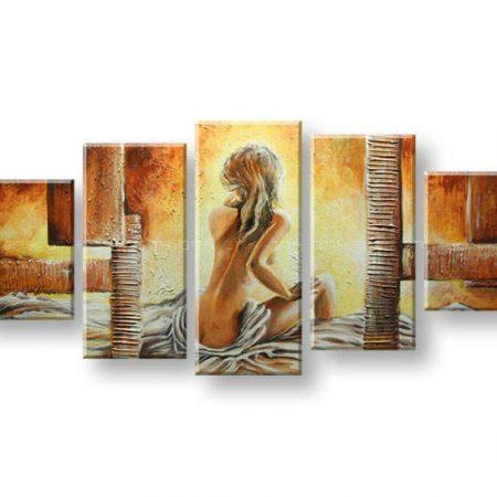 Maľovaný obraz na stenu ŽENA FB389E5