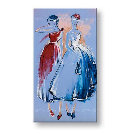 Maľovaný obraz na stenu ŽENY 1 dielny YOBFB580E1