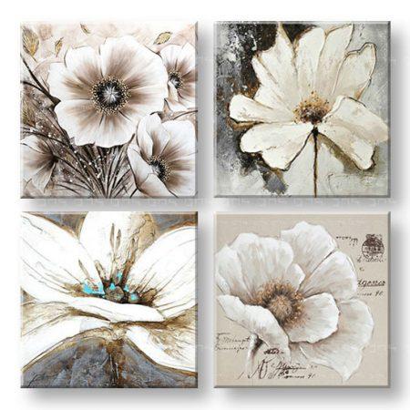 Maľovaný obraz na stenu koláž z Kvetov YOBFB560E4