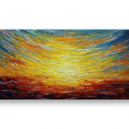 Maľovaný obraz na stenu na stenu ABSTRAKT BI161E1