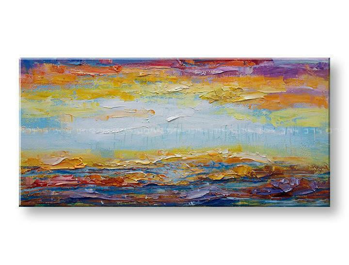 Maľovaný obraz na stenu na stenu ABSTRAKT BI166E1