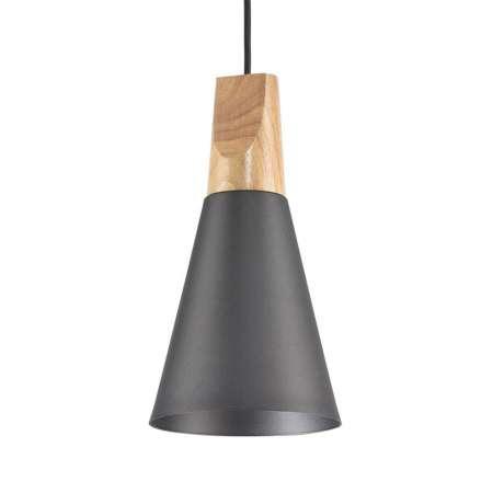 Maytoni Závesná lampa Bicones v čiernej, Ø 14cm