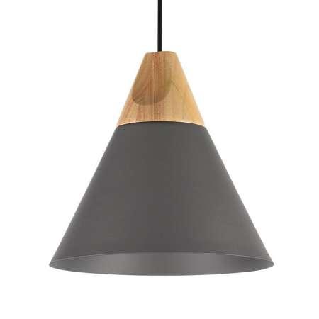 Maytoni Závesná lampa Bicones v čiernej, Ø 22cm