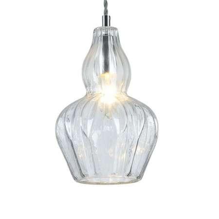 Maytoni Závesná lampa Eustoma s čírym tienidlom na lampu