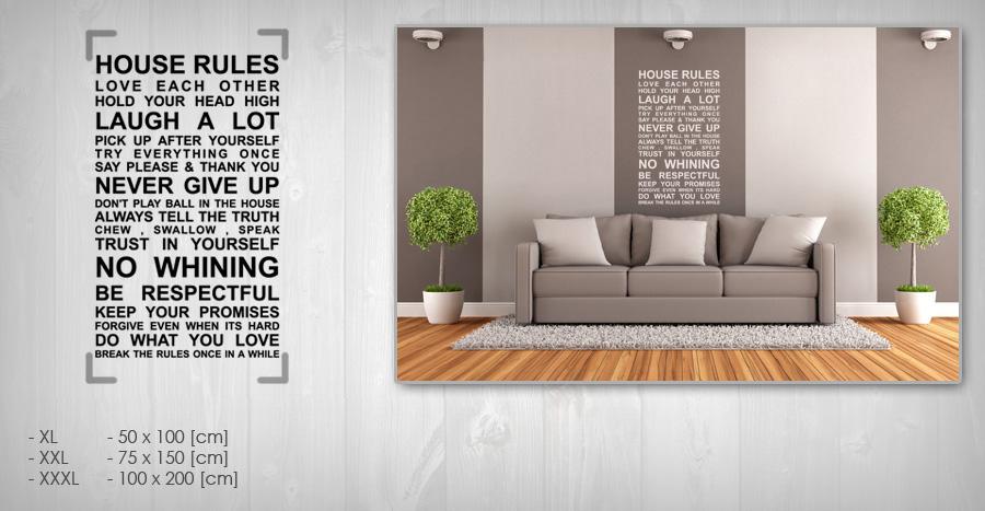 Nálepka na stenu CITÁTY 50x100 cm NACT005 - biela farba