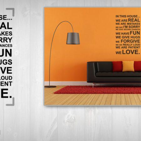 Nálepka na stenu Zľava 20 %  CITÁTY 75x150 cm NACT006/24h - čierna farba