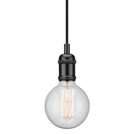 Nordlux Avra – minimalistická závesná lampa v čiernej