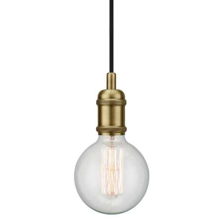 Nordlux Avra – minimalistická závesná lampa v mosadznej