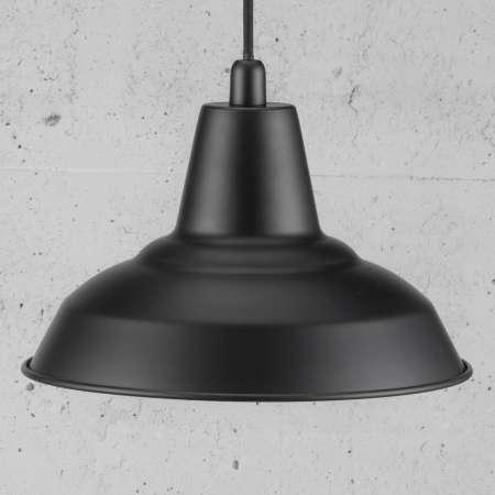 Nordlux Čierna kovová závesná lampa Lyne