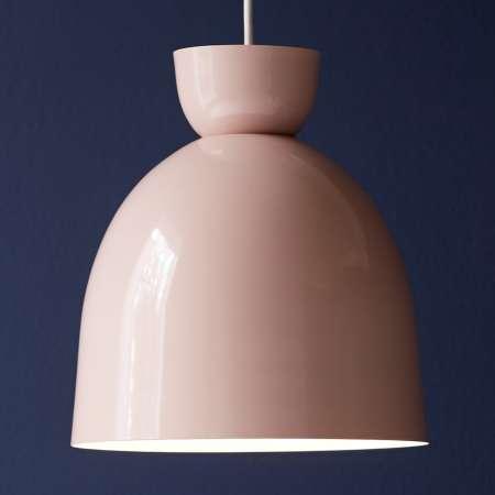 Nordlux Cirkus – závesná lampa Ø 27cm ružová