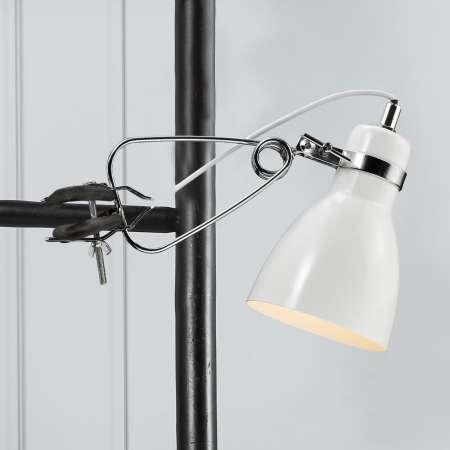 Nordlux Pôsobivá upínacia lampa Clone, biela