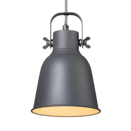 Nordlux Závesná lampa Adrian v čiernej farbe, Ø 16cm
