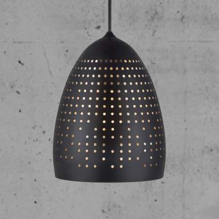 Nordlux Závesná lampa Houston perforované tienidlo 18cm