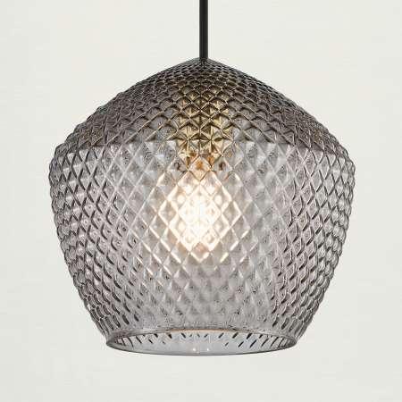 Nordlux Závesná lampa Orbiform tienidlo z dymového skla