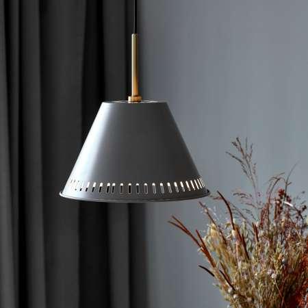 Nordlux Závesná lampa Pine, 1-plameňová, sivá