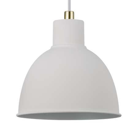 Nordlux Závesná lampa Pop Rough z kovu, biela