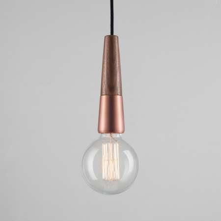 Nordlux Závesná lampa Stripped v materiálovom mixe