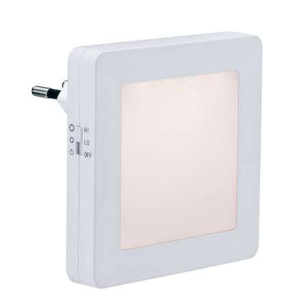 Paulmann Paulmann Esby nočné LED svetlo, zásuvka, hranaté
