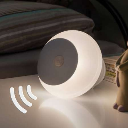 Paulmann Paulmann Viby nočné LED svetlo, mobilné, okrúhle