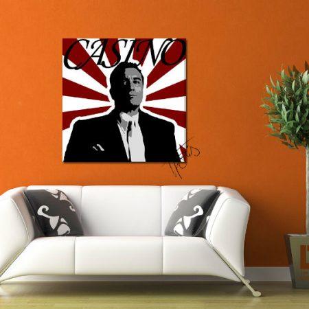 Ručne maľovaný POP Art obraz CASINO  cas
