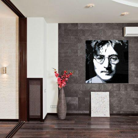 Ručne maľovaný POP Art obraz John Lennon  jl