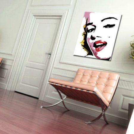 Ručne maľovaný POP Art obraz Marilyn Monroe  mon7