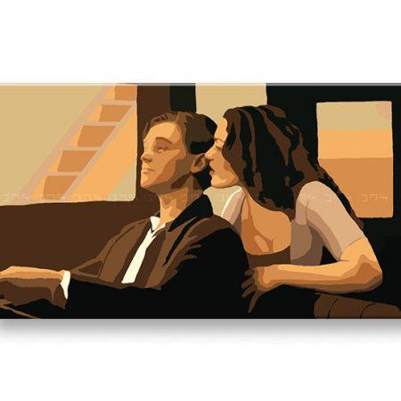 Ručne maľovaný POP Art obraz TITANIC 1 dielny  tt