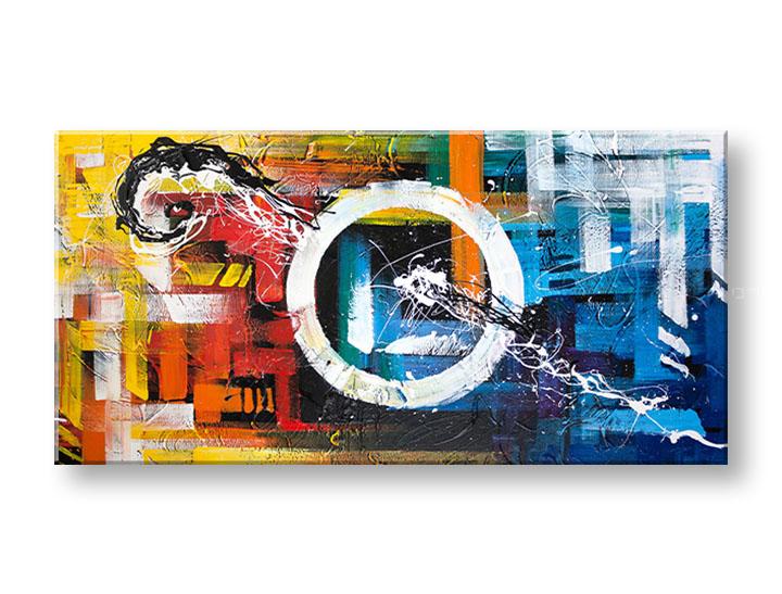 Ručne maľovaný obraz ABSTRAKT – 1 dielny YOBDA048E1