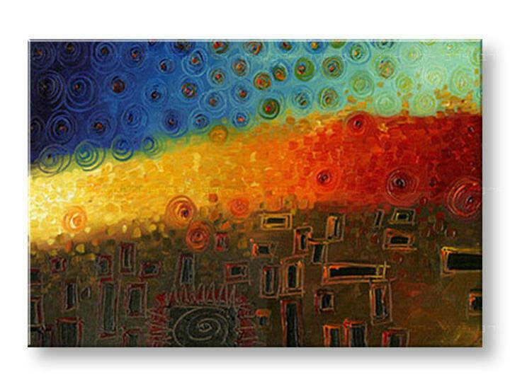Ručne maľovaný obraz ABSTRAKT BI0060E1