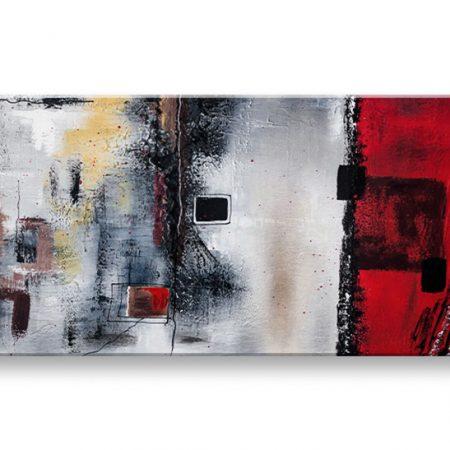Ručne maľovaný obraz DeLUXE ABSTRAKT – 1 dielny YOB102D1