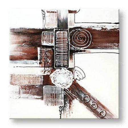 Ručne maľovaný obraz DeLUXE ABSTRAKT – 1 dielny YOB136D1