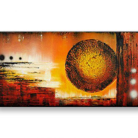 Ručne maľovaný obraz DeLUXE -  ABSTRAKT 1 dielny 090D1