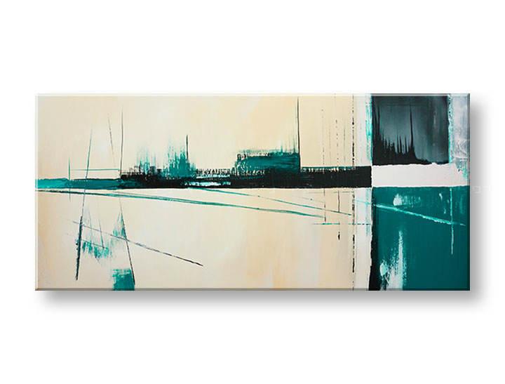 Ručne maľovaný obraz DeLUXE ABSTRAKT 1 dielny YOB134D1