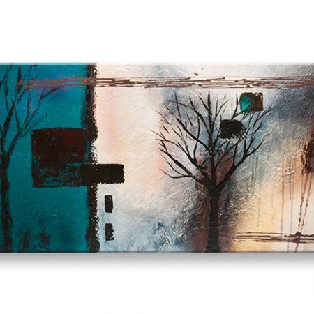 Ručne maľovaný obraz DeLUXE STROMY – 1 dielny YOB097D1