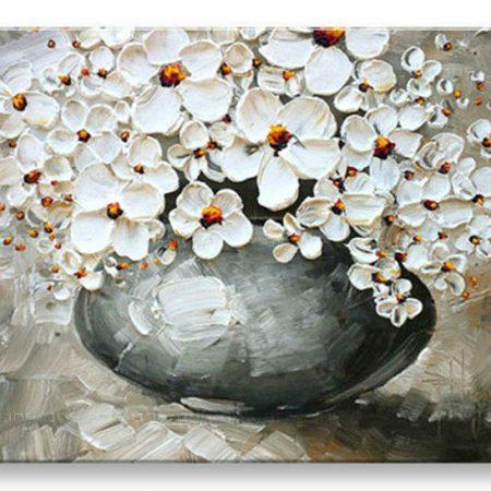 Ručne maľovaný obraz KVETY BI0024E1