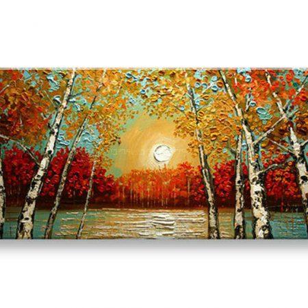 Ručne maľovaný obraz PRÍRODA BI0086E1