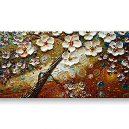 Ručne maľovaný obraz STROM BI0045E1