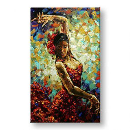 Ručne maľovaný obraz ŽENA BI0052E1