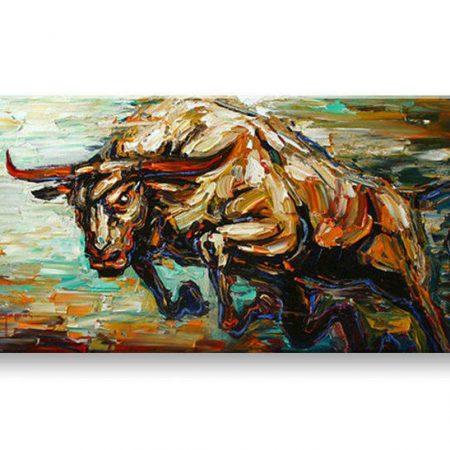 Ručne maľovaný obraz ZVIERA BI0051E1