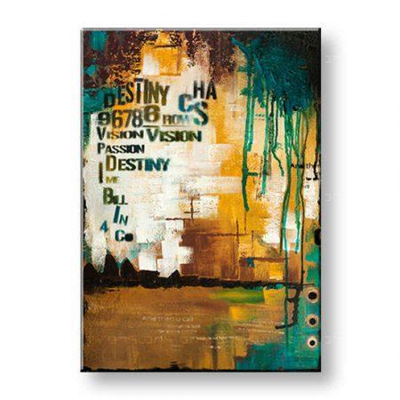 Ručne maľovaný obraz na stenu ABSTRAKT 1 dielny YOBAM003E1