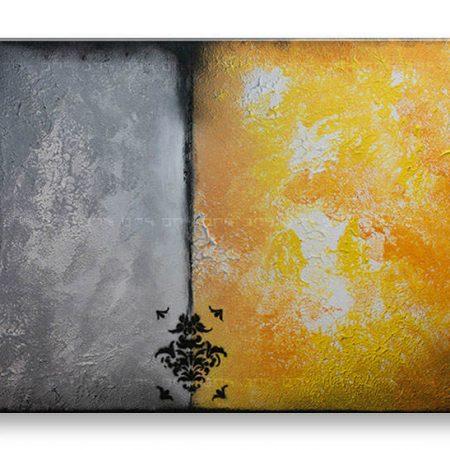 Ručne maľovaný obraz na stenu ABSTRAKT 1 dielny YOBAM018E1