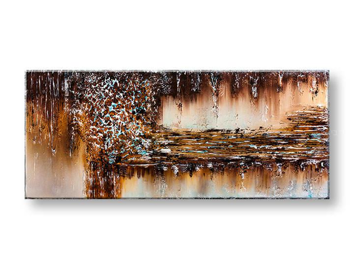 Ručne maľovaný obraz na stenu ABSTRAKT YOBFB536E1