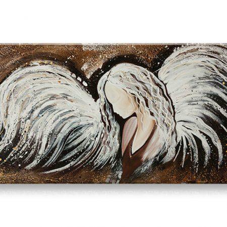 Ručne maľovaný obraz na stenu ANJEL YOBFB533E1
