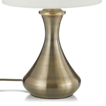 Searchlight Stolná lampa Touch 2750, mosadz antická