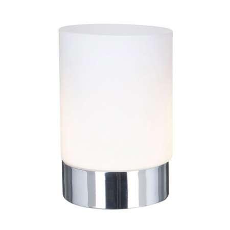 Searchlight Stolná lampa Touch 9791 so skleneným valcom