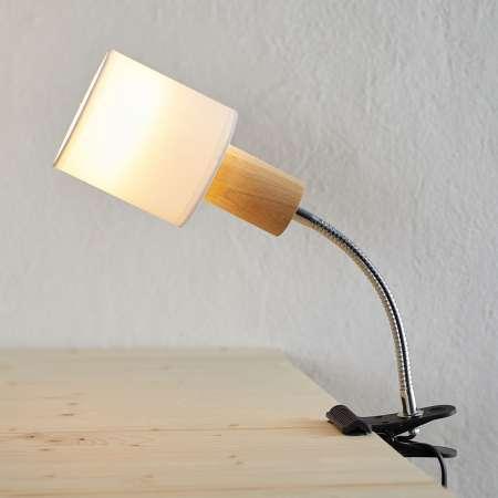 Spot-Light Upínacia lampa Clampspots Flex, pohyblivé rameno