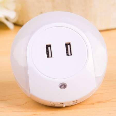 Starlicht Nočné LED svetlo Brit snímač USB prípojka okrúhle
