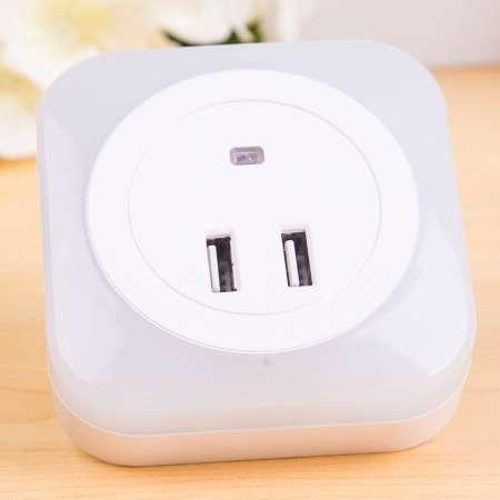Starlicht Nočné LED svetlo, snímač USB konektor hranaté