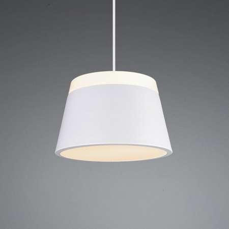 Trio Lighting Závesná lampa Baroness Ø 25cm, biele