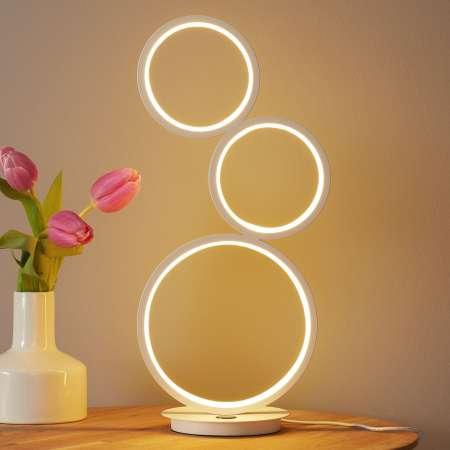 Wofi Stolná LED lampa Vika s 3-stupňovým stmievačom